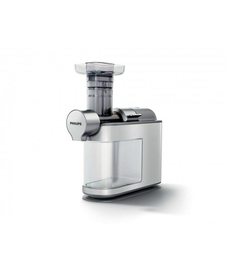 Philips Juicer HR1945/80 Type Slow juicer, White/Grey, 200 W