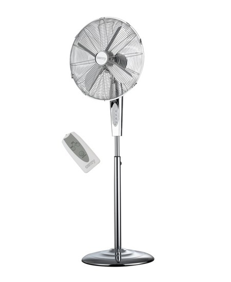 Camry CR 7314 Stand Fan, Timer, 190 W, Remote control, Oscillation, Stainless steel