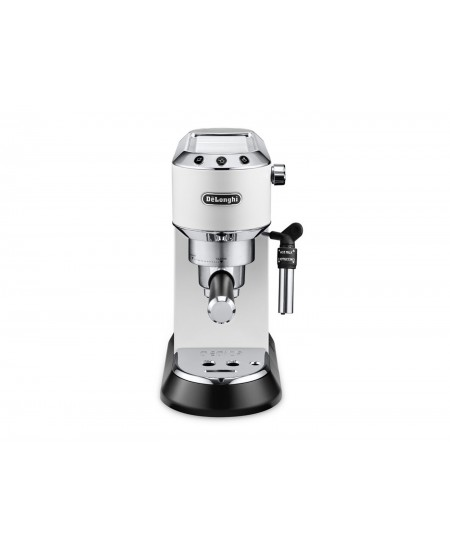 Delonghi Dedica Pump Espresso  EC685W Pump pressure 15 bar, Built-in milk frother, Semi-automatic, 1300 W, White
