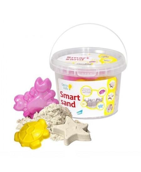 Išmanusis smėlis su formelėmis, natūrali spalva  0.5 kg
