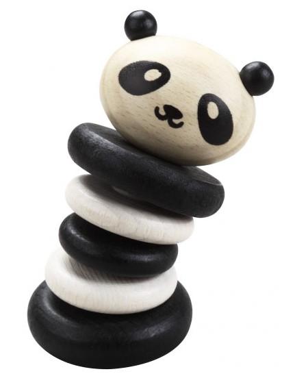 Medinis barškutis CLASSIC WORLD Panda