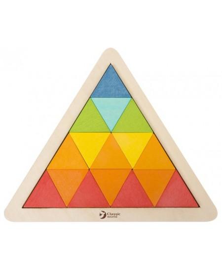 Trikampėlių mozaika CLASSIC WORLD, 60 kaladėlių