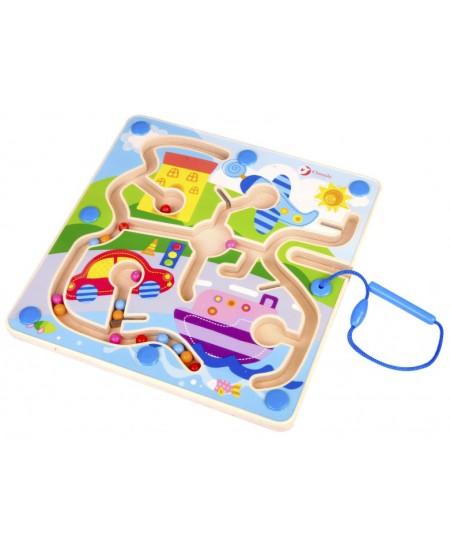 Magnetinis labirinto žaidimas CLASSIC WORLD Miestas