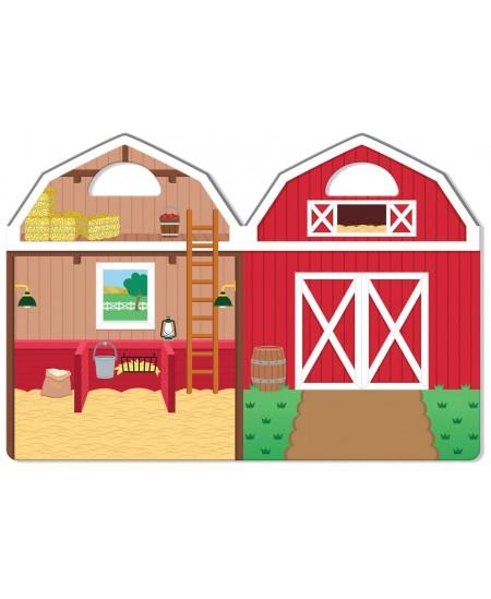 Daugkartinių lipdukų rinkinys MELISSA & DOUG Ūkis