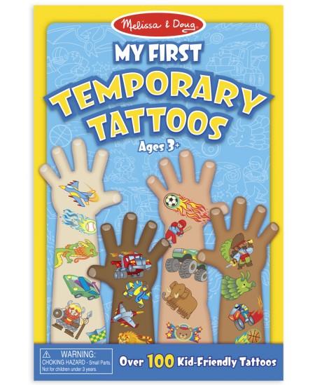 Laikinų tatuiruočių rinkinys MELISSA & DOUG Mėlyna