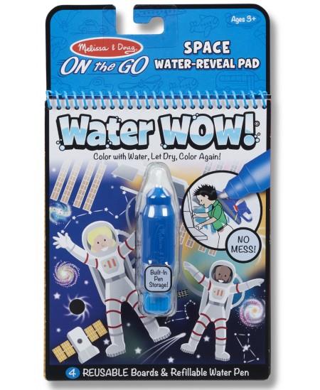 """Piešimo vandeniu knyga MELISSA & DOUG Water Wow \""""Kosmosas\"""""""