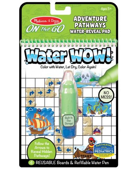 """Piešimo vandeniu knyga MELISSA & DOUG Water Wow \""""Nuotykiai\"""""""