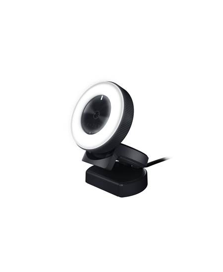 Razer Kiyo - Ring Light Equipped Broadcasting Camera Connection type: USB2.0. Fast & Accurate Autofocus for seamlessly sharp