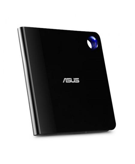 Asus Interface USB 3.1 Gen 1, CD read speed 24 x, CD write speed 24 x, Black, Ultra-slim Portable USB 3.1 Gen 1 Blu-ray burner w