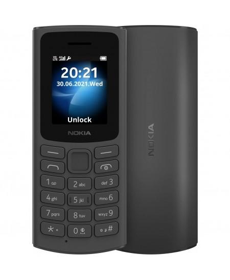 "Nokia 105 DS TA-1378 Black, 1.8 "", QQVGA, 0.048 MB, Dual SIM, Nano Sim, 3G, USB version Micro, 1020 mAh"