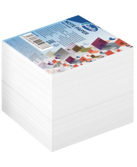 Lapeliai užrašams FOROFIS, 85x85 mm, balti, 800 lapelių
