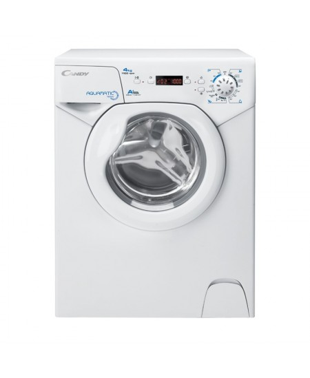 Candy Washing machine AQUA 1142DE/2-S Energy efficiency class F, Front loading, Washing capacity 4 kg, 1100 RPM, Depth 45 cm, Wi