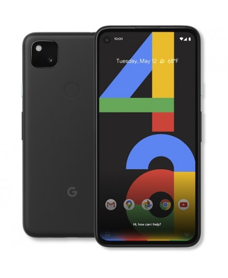 "google Pixel 4a G025N Just Black, 5.81 "", OLED, 1080 x 2340 pixels, Qualcomm Snapdragon 730, Internal RAM 6 GB, 128 GB, Sin"