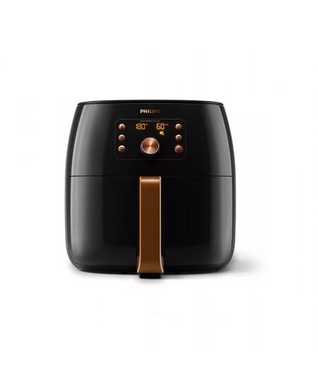 Philips Premium Airfryer XXL HD9867/90 Power 2200 W, Capacity 7.3 L, Smart Sensing Technology, Black