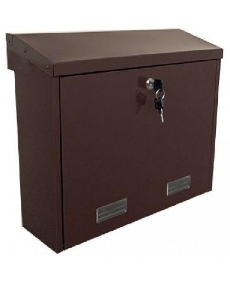 Pašto dėžutė PD92M, ruda