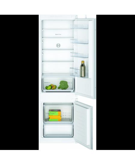 Bosch Serie 2 Refrigerator KIV87NSF0 Energy efficiency class F, Built-in, Combi, Height 177 cm, Fridge net capacity 200 L, Freez
