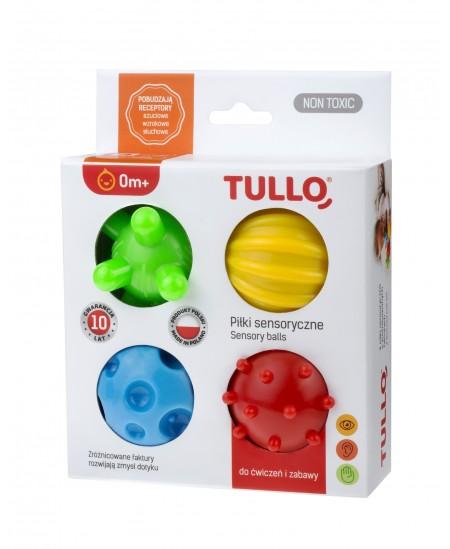 Kamuoliukai sensoriniam vystymui Tullo, 4 vnt., 459