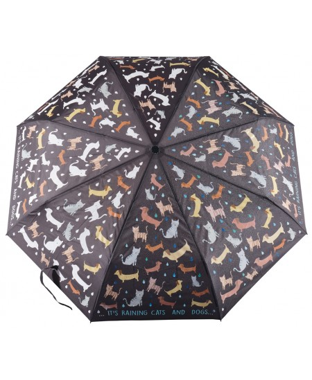 Magiškas skėtis FLOSS&ROCK Lyja katėmis ir šunimis