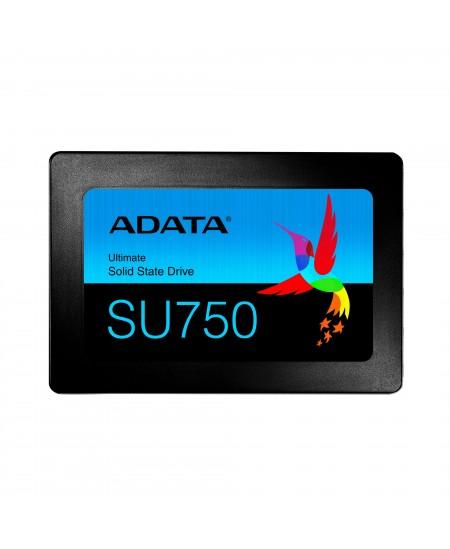 ADATA Ultimate SU750 3D NAND SSD 512 GB, SSD interface SATA, Write speed 520 MB/s, Read speed 550 MB/s