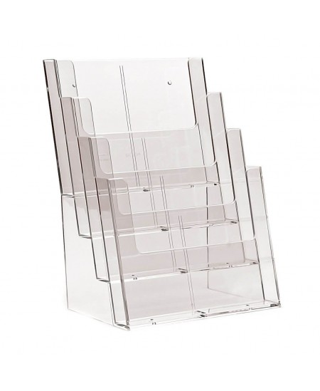 Bukletų laikiklis, A4 (210x300 mm), vertikalus, 4xA4