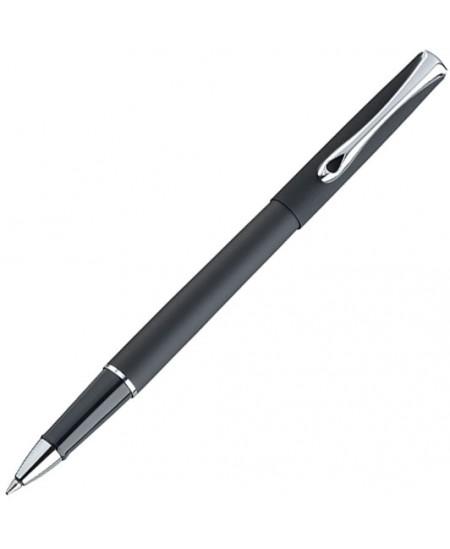 Rašiklis DIPLOMAT Traveller, juodas matinis korpusas, 0.7 mm, mėlynas