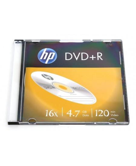 Laikmena HP DVD-R, 4.7GB, 16X, plonoje dėžutėje