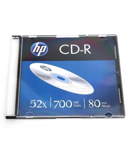 Laikmena HP CD-R, 700MB, 52X, plonoje dėžutėje