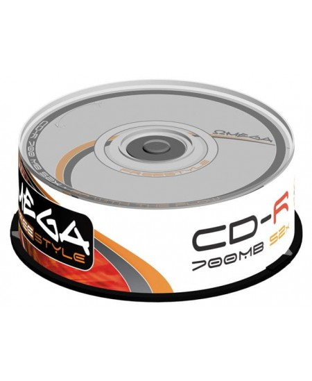Laikmena FREESTYLE CD-R, 700MB, 52X, 25 vnt. iešmas