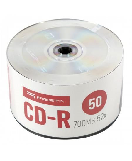 Laikmena FIESTA CD-R, 700MB, 52X, 50 vnt. iešmas