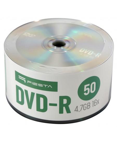 Laikmena FIESTA DVD-R, 4.7GB, 16X, 50 vnt. iešmas