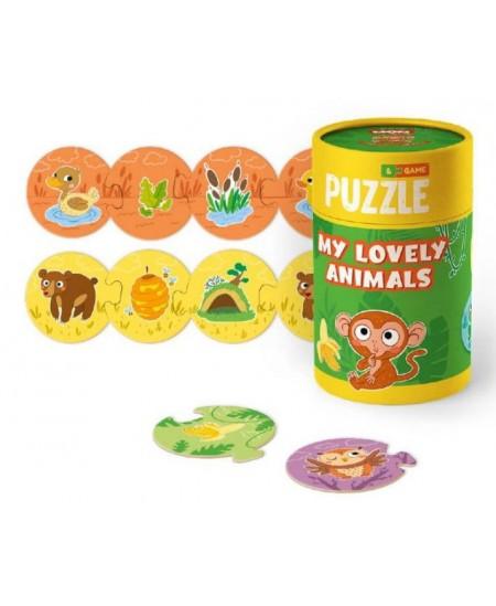 Dėlionė DODO Mano mieli gyvūnai, 24 det.