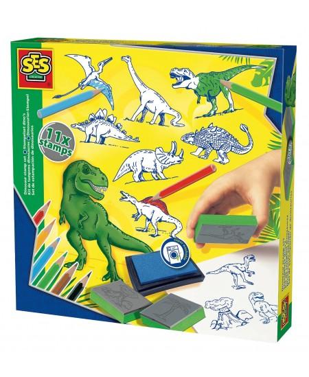 """SES Antspaudukų rinkinys """"Dinozaurai"""""""