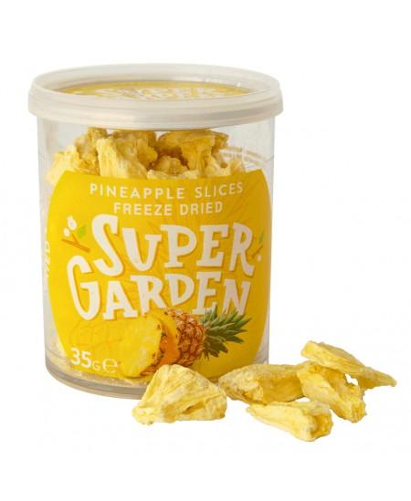 Ananasai SUPERGARDEN, džiovintos šaltyje, 35 g