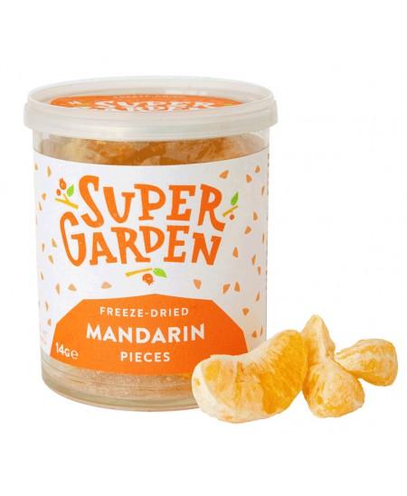 Mandarinų gabaliukai SUPERGARDEN, džiovinti šaltyje, 14 g