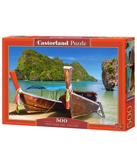 Dėlionė CASTORLAND Khao Phing Kan, Thailand, 500 det.