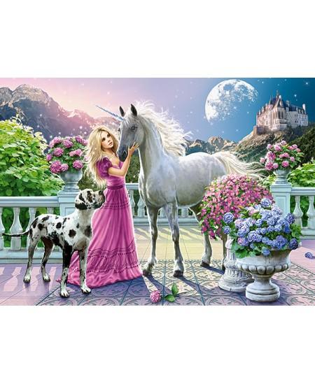 Dėlionė CASTORLAND My Friend Unicorn, 300 det.