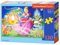 Dėlionė CASTORLAND Cinderella, 120 det.