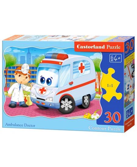 Dėlionė CASTORLAND Ambulance Doctor, 30 det.