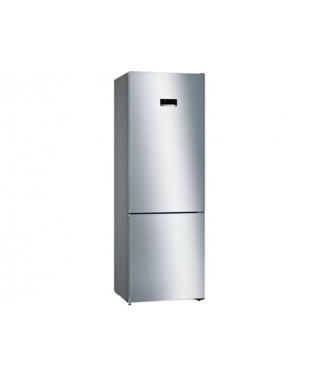 Bosch Refrigerator KGN49XIEA Energy efficiency class E, Free standing, Combi, Height 203 cm, No Frost system, Fridge net capacit