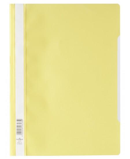 Aplankas su įsegėle DURABLE, A4, geltonas