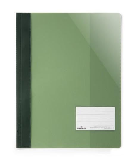Aplankas su įsegėle DURABLE, A4+, žalias