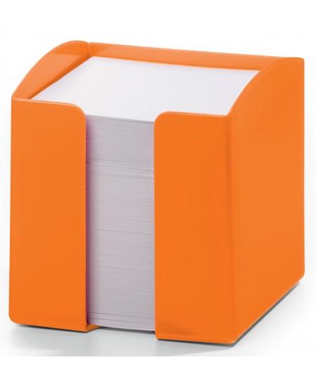 Lapeliai užrašams DURABLE oranžinėje dėžutėje, 90x90 mm, 800 lapelių