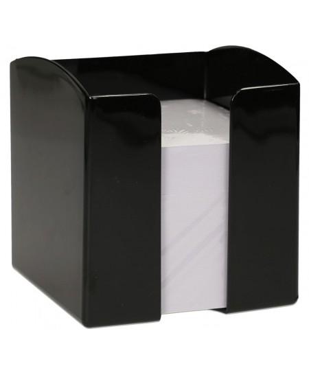 Lapeliai užrašams DURABLE juodoje dėžutėje, 90x90 mm, 800 lapelių