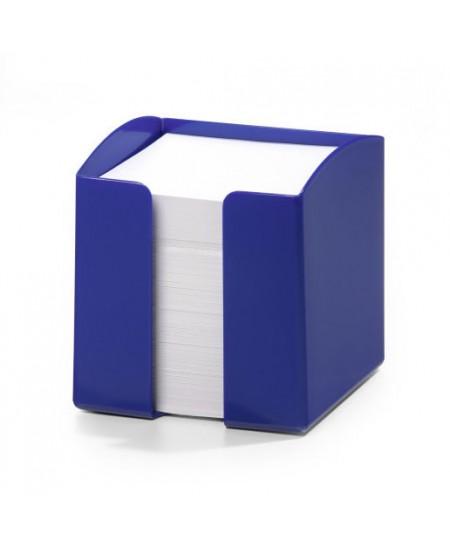 Lapeliai užrašams DURABLE mėlynoje dėžutėje, 90x90 mm, 800 lapelių