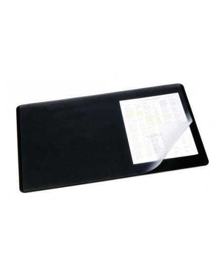 Patiesalas rašymui DURABLE su perregimu atvartu, 530x400 mm, juodas