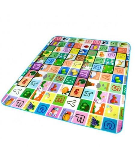 Lavinamasis kilimėlis vaikams, 180x200 cm