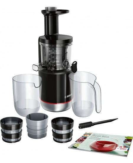 Bosch MESM731M Type  Slow Juicer, Black, 150 W, 55 RPM