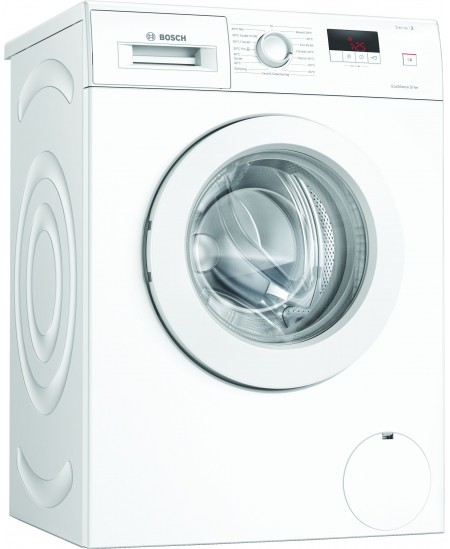 Bosch Serie 2 Washing Mashine WAJ240L7SN Energy efficiency class D, Front loading, Washing capacity 7 kg, 1200 RPM, Depth 55 cm,