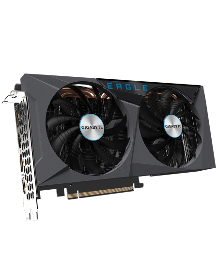 Gigabyte GV-N3060EAGLE-12GD, LHR version NVIDIA, 12 GB, GeForce RTX 3060 Ti, GDDR6, PCI-E 4.0 x 16, Processor frequency 1777 MHz