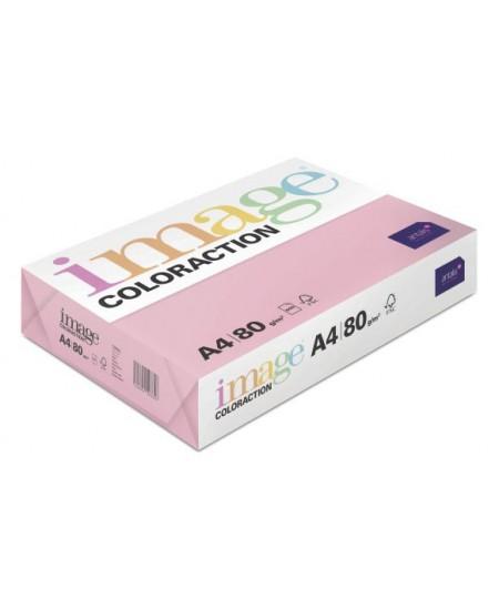 Spalvotas popierius IMAGE COLORACTION Coral, 80g/m2, A4, 500 lapų, rožinė (Pink)